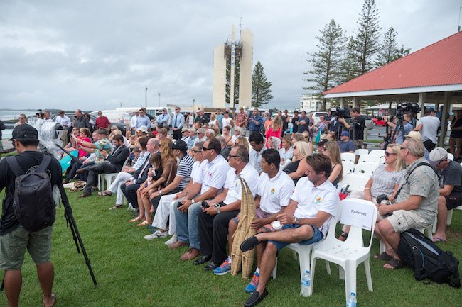 GC WSR Dedication Crowd. Credit: Josh Hamilton