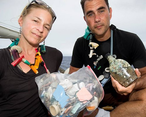 Anna Cummins & Dr. Marcus Eriksen